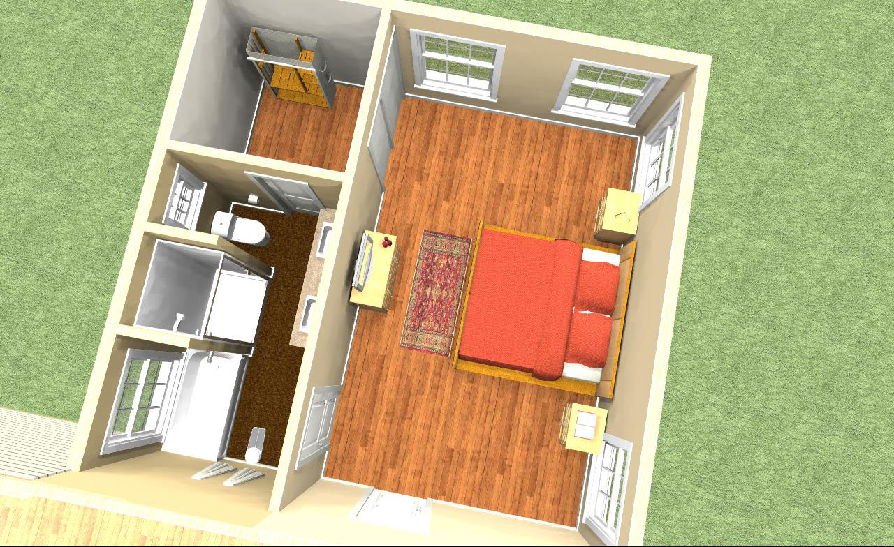 Bedroom floor plan designer