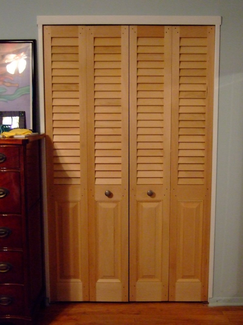 Bedroom closet door Photo - 1