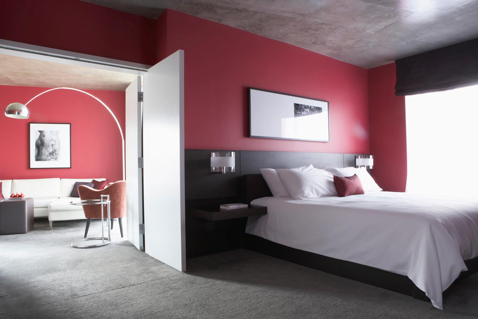 Bedroom color paint Photo - 1