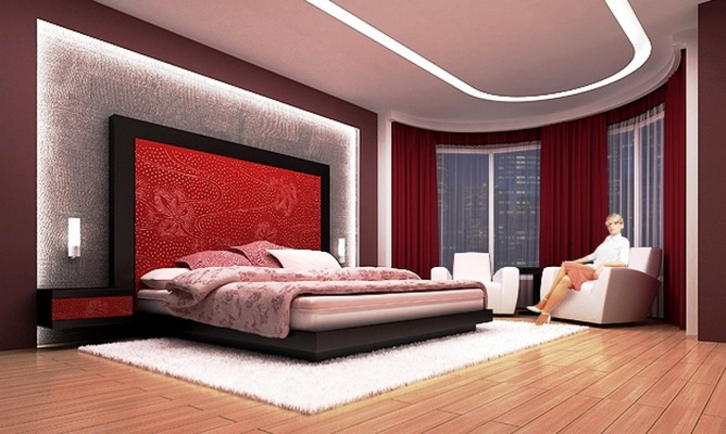 Bedroom design ideas for couples Photo - 1