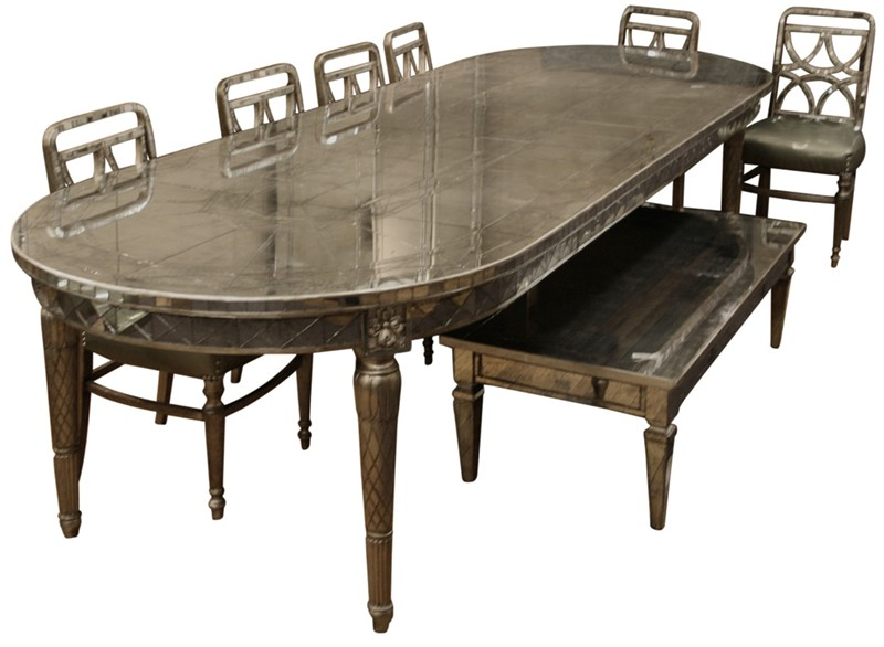 Art deco dining room table Photo - 1