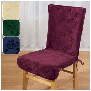 Chair back covers for dining chairs Photo - 1