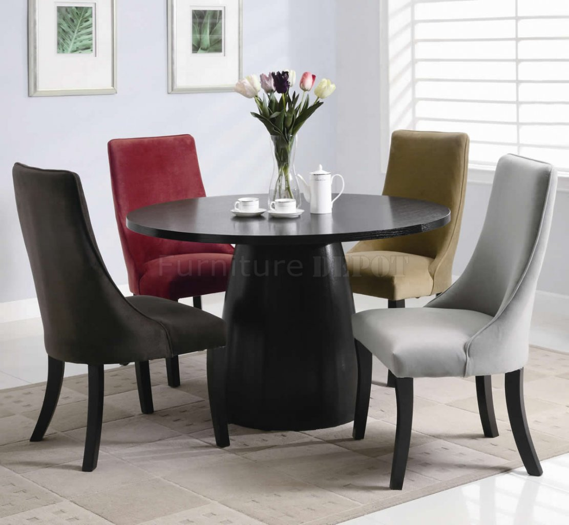 Color dining chairs Photo - 1