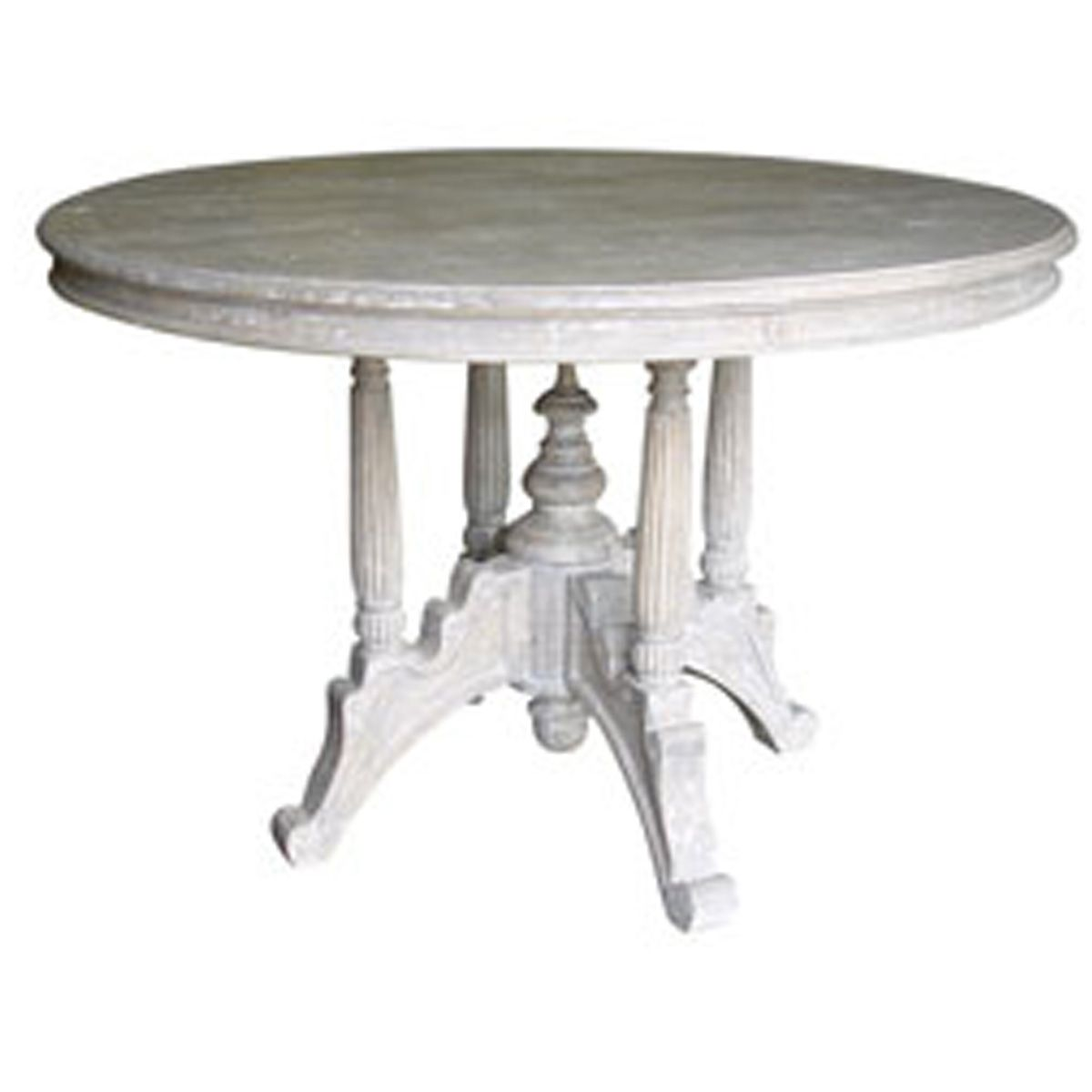 Cottage style dining tables rooms dining room furniture for Cottage style kitchen chairs