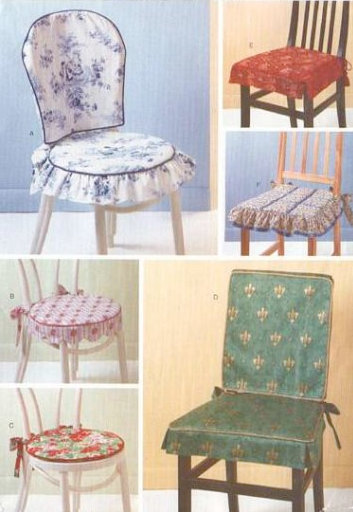 Dining chair cover pattern Photo - 1