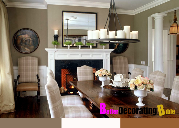 Rustic dining room decorating ideas large and beautiful - Budget room decorating ideas ...