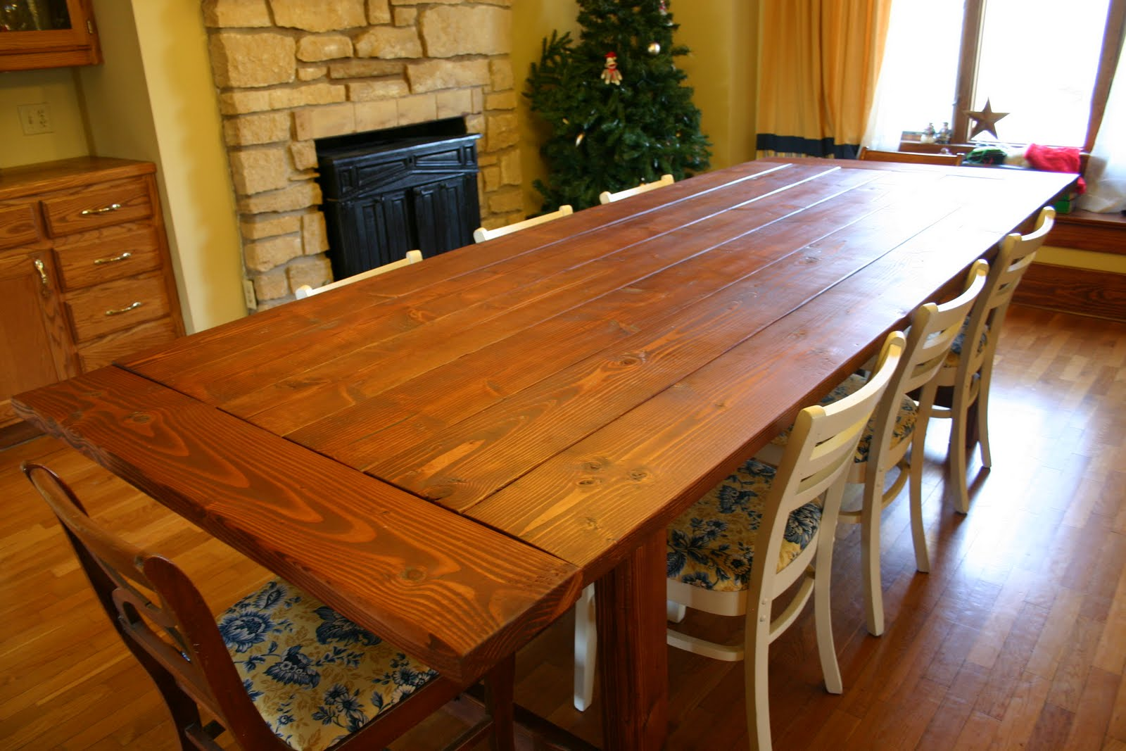 Dining room table building plans Photo - 1