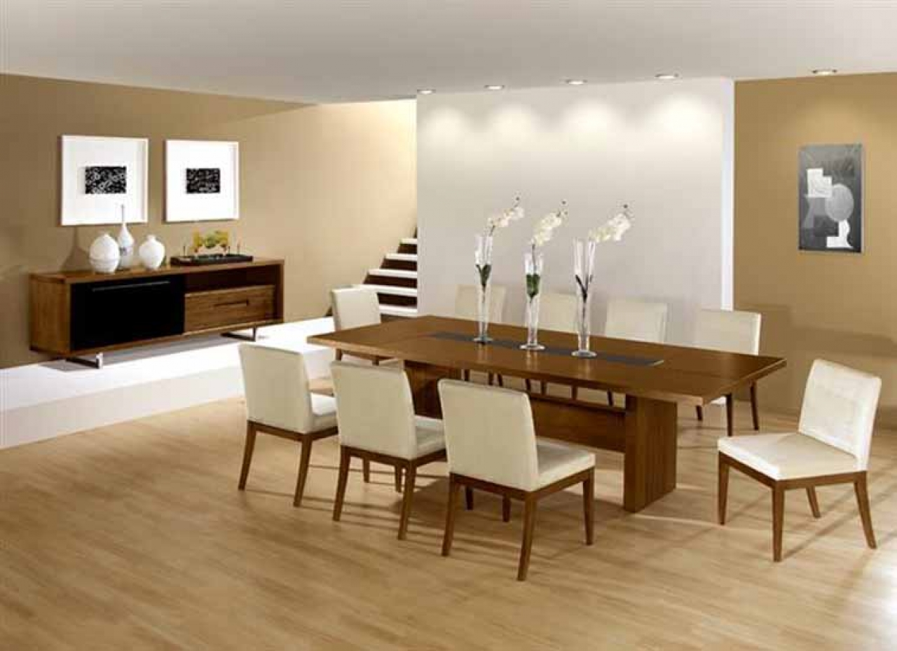 Dining room tables modern design Photo - 1