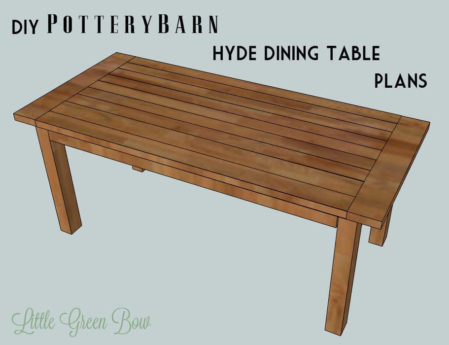 Dining table building plans Photo - 1