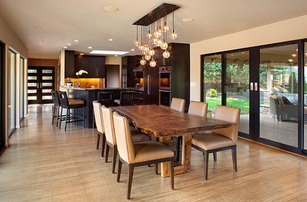 Dining table lighting ideas Photo - 1