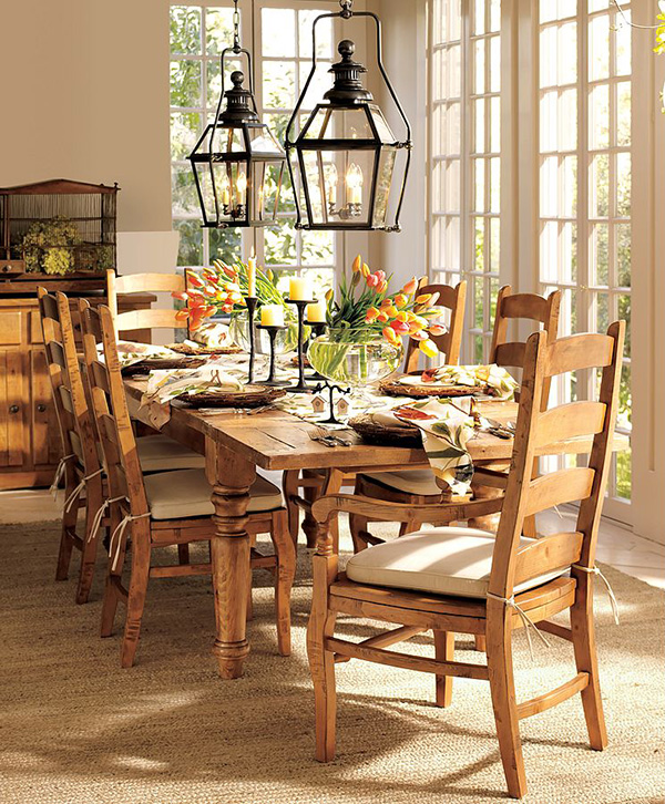 Dining room table setting ideas ...  sc 1 st  Design your home & Dining table setting ideas - large and beautiful photos. Photo to ...