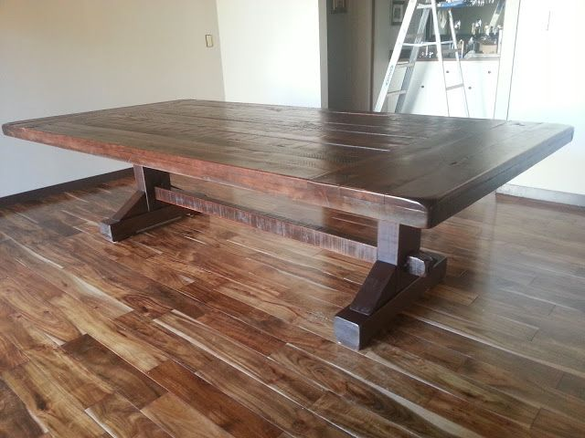 Do it yourself dining table Photo - 1