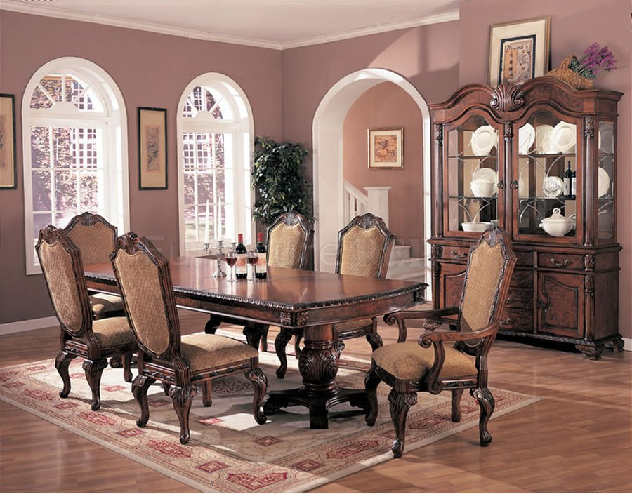elegant dining room - large and beautiful photos. photo to select