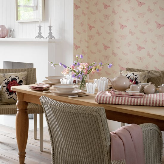 Farmhouse dining room decorating ideas Photo - 1