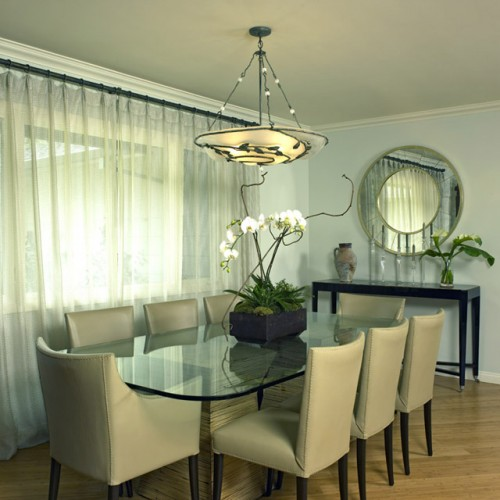 Floral arrangements for dining room tables Photo - 1
