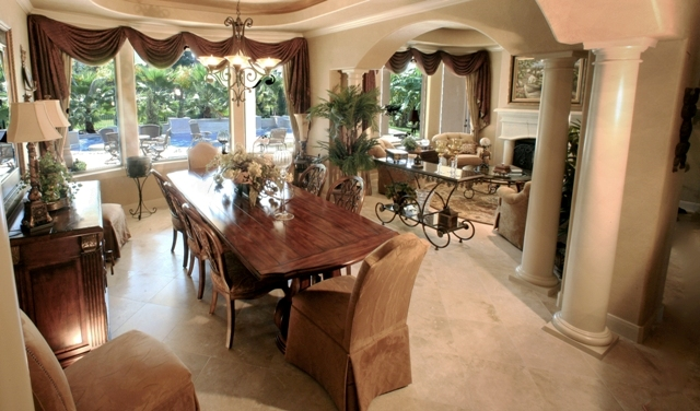 Formal dining rooms elegant decorating ideas Photo - 1