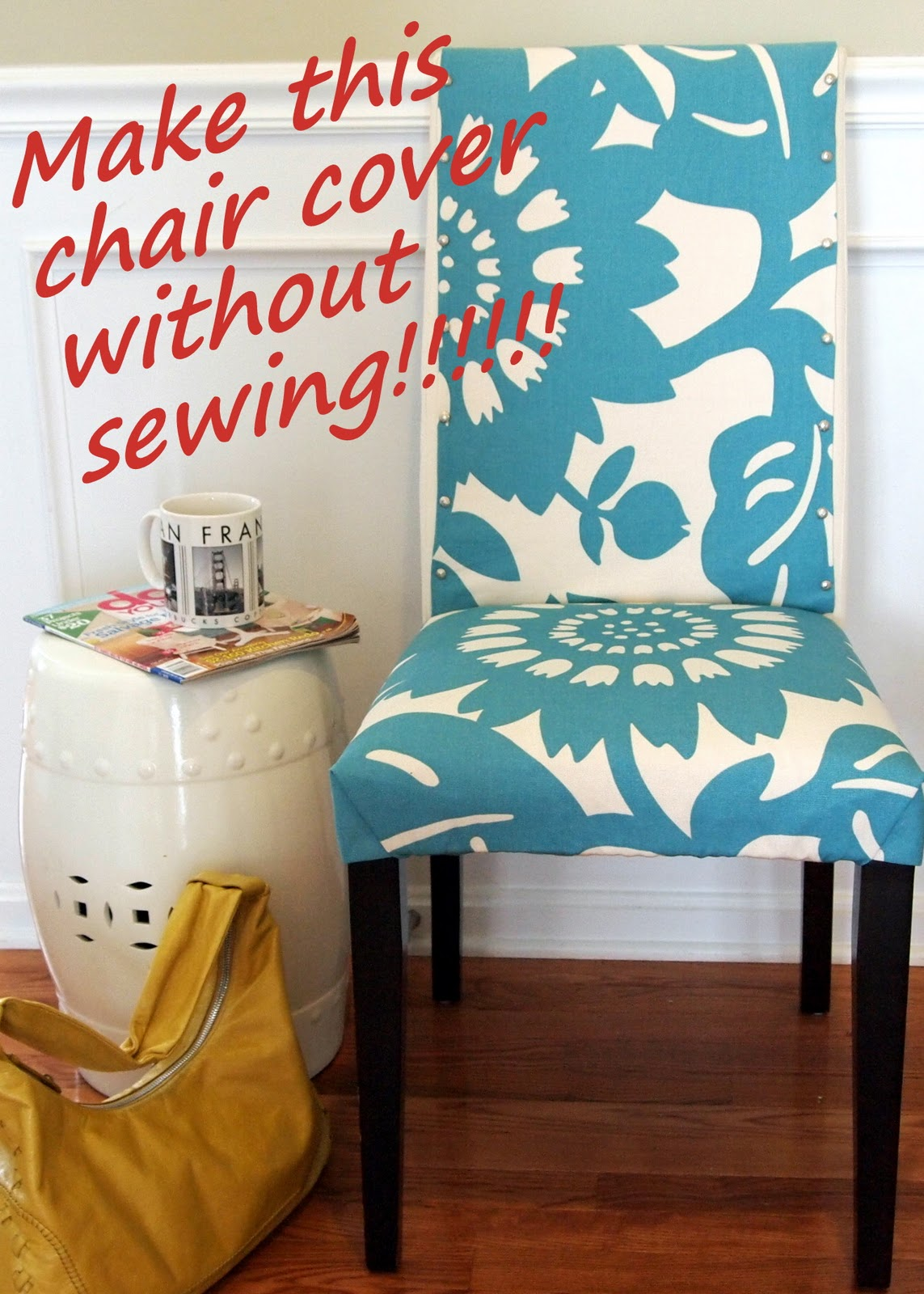 How to make dining room chair covers Photo - 1