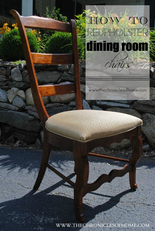 How to recover dining chairs Photo - 1