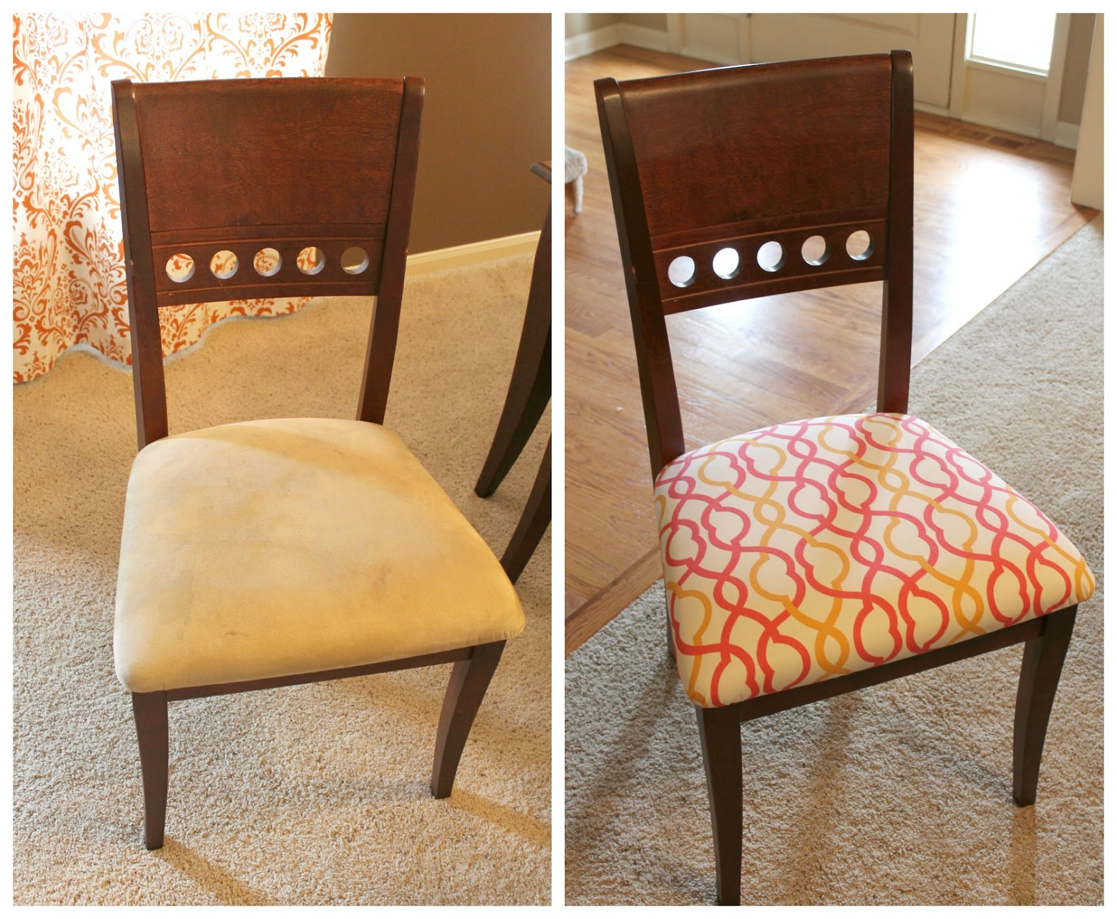 Reupholstering Dining Room Chairs Large And Beautiful Photos
