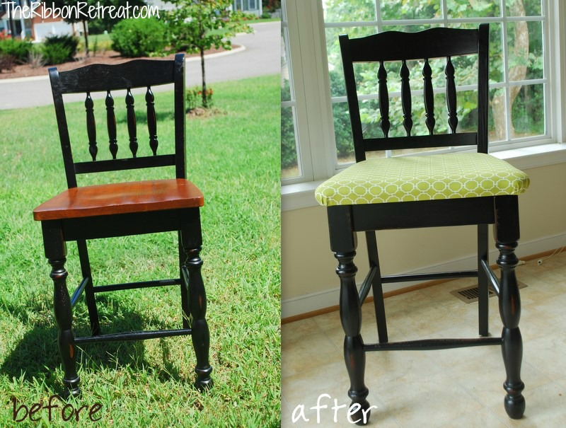How to upholster a dining room chair Photo - 1