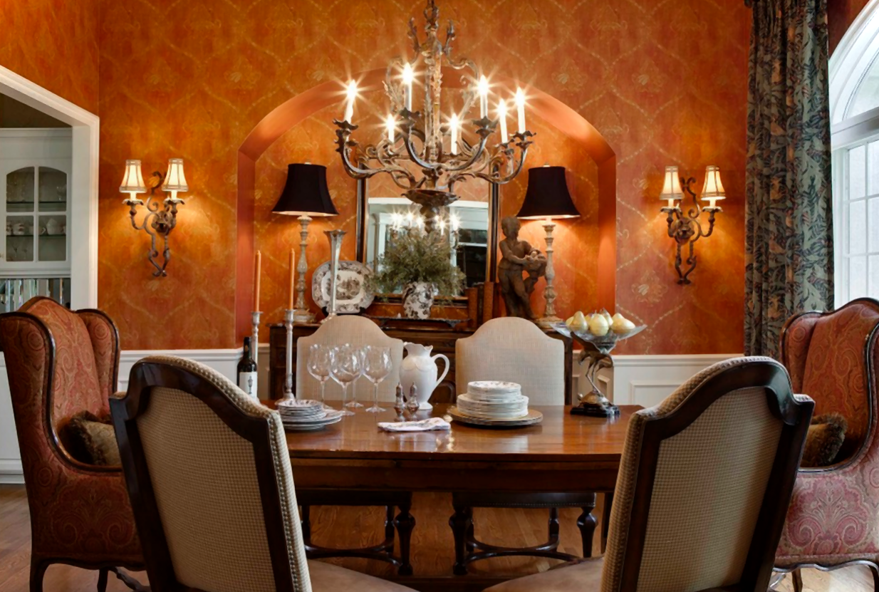 Ideas for decorating a dining room Photo - 1