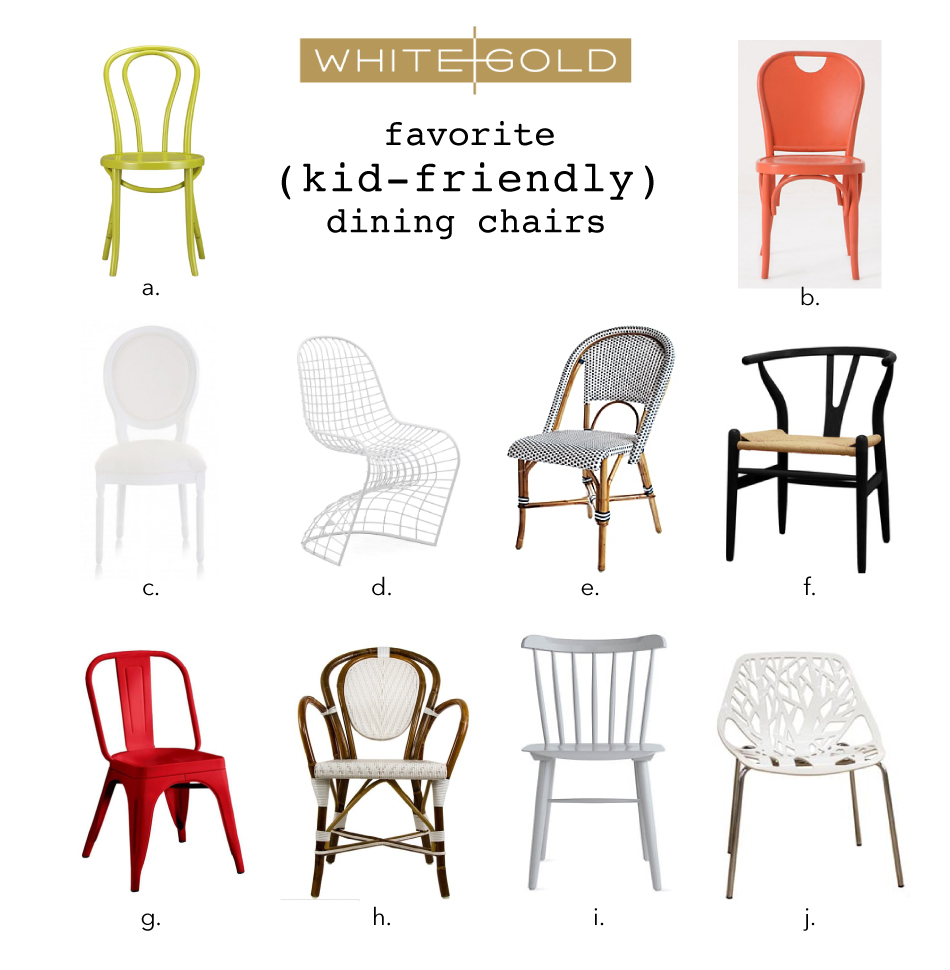Kid friendly dining chairs Photo - 1