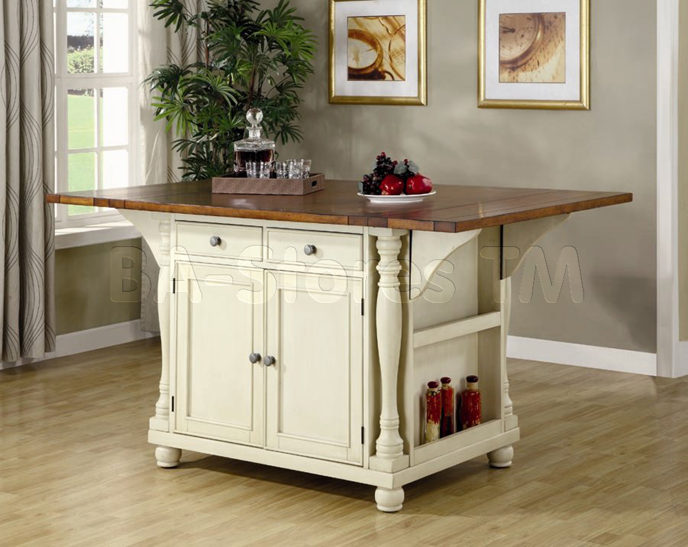 Kitchen island dining table Photo - 1