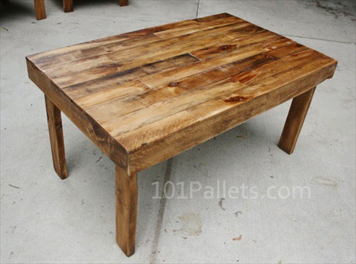 Make wood dining table Photo - 1