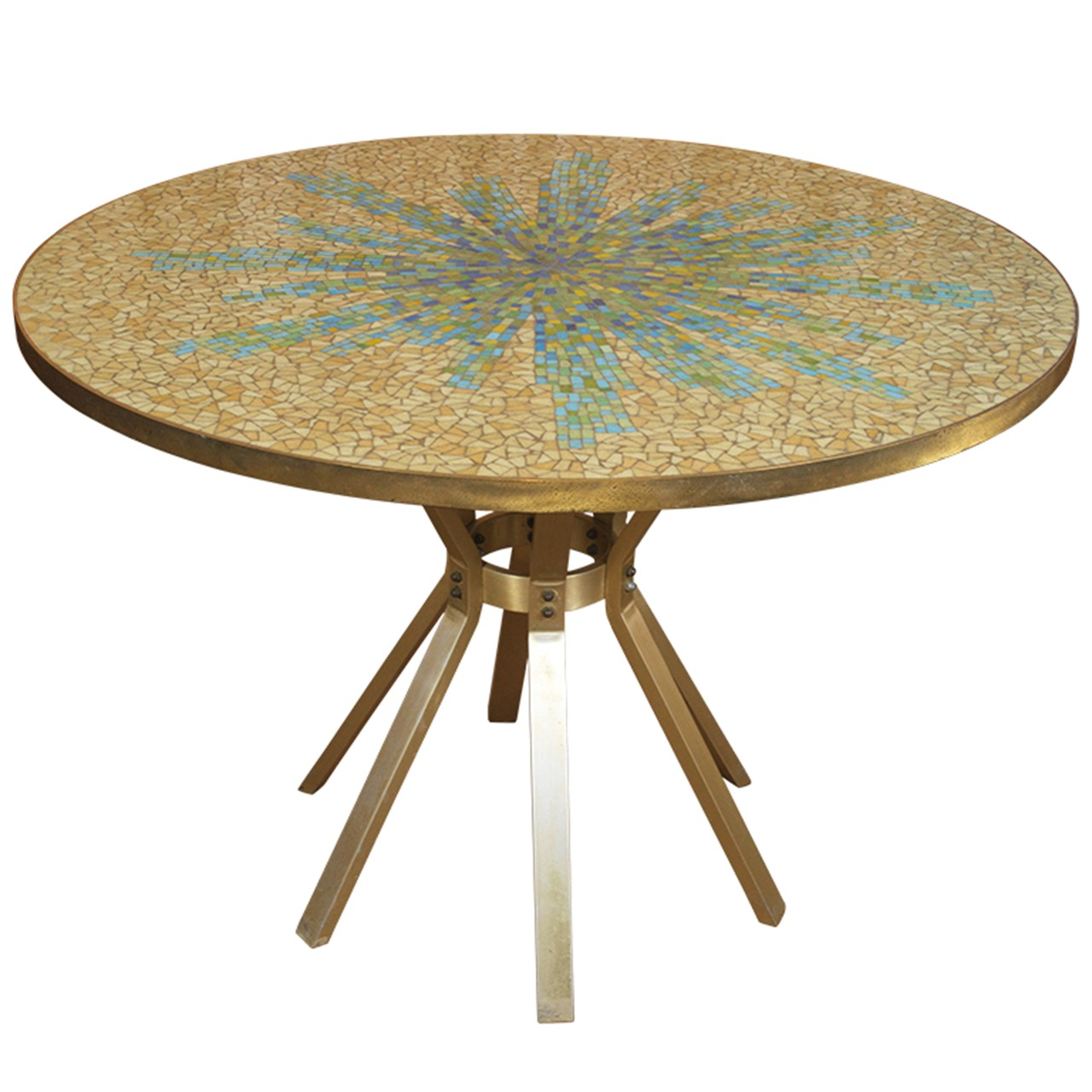 Beautiful Mosaic Dining Room Table Contemporary Home