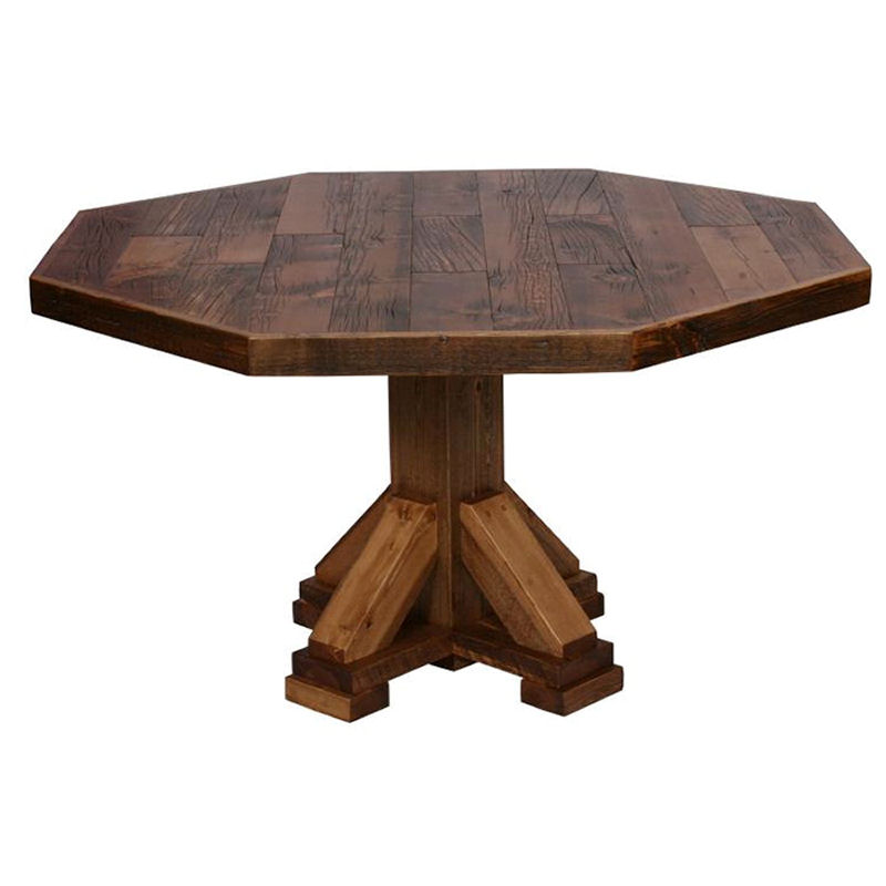 Octagon dining room table Photo - 1