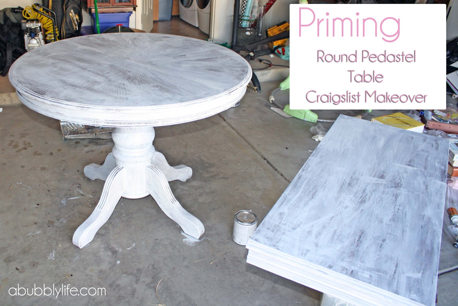 Painting A Dining Table