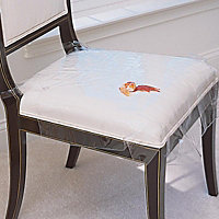 Plastic seat covers for dining room chairs Photo - 1