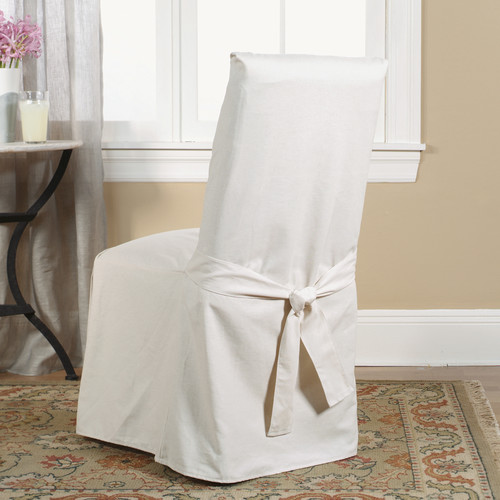 Slip cover dining chair Photo - 1