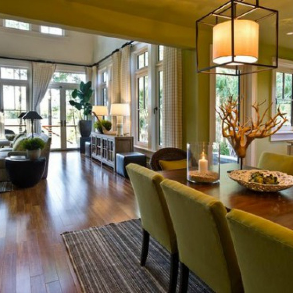 Living And Dining Room Combo: Hgtv Small Living Room Ideas