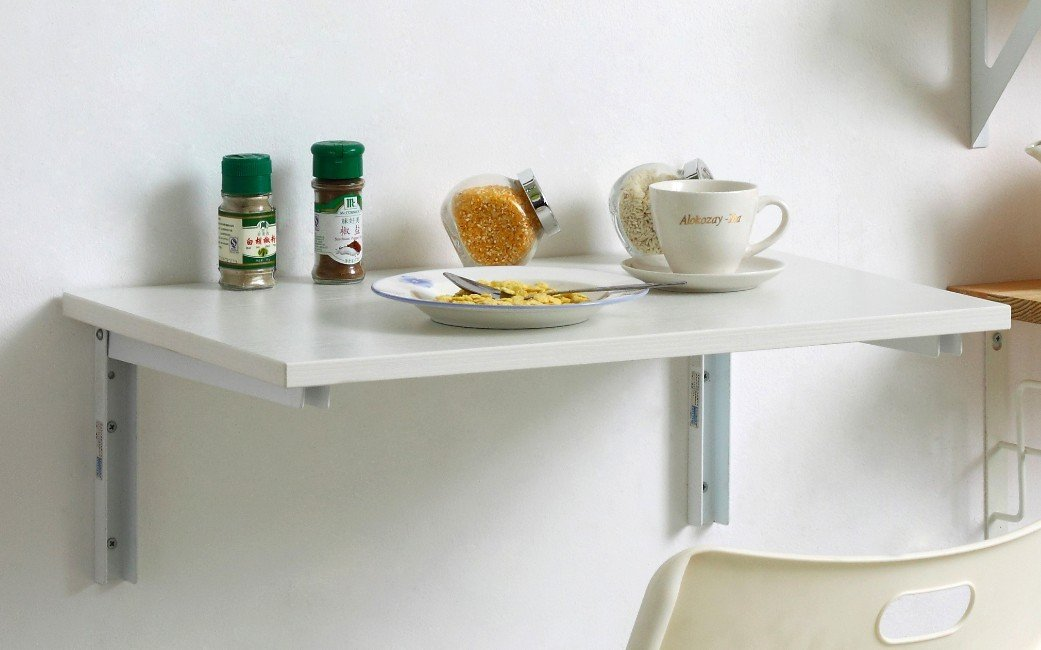 Wall mounted dining table Photo - 1