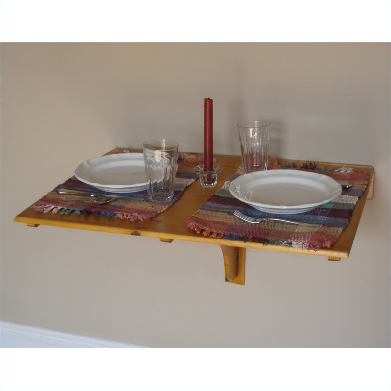 Wall mounted folding dining table large and beautiful - Wall mounted folding table ...