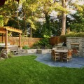 Backyard dining area Photo - 1