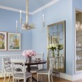 Blue dining rooms Photo - 1