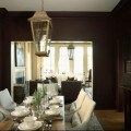 Brown dining rooms Photo - 1