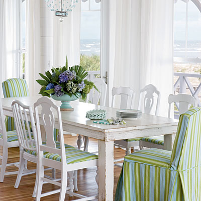 Awesome Coastal Dining Rooms