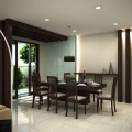 Contemporary dining room design Photo - 1