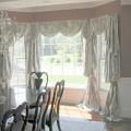Dining room bay window treatments Photo - 1