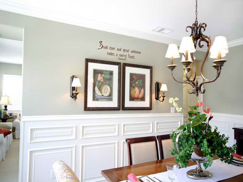 Country dining room pictures