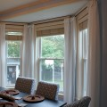 Dining room window treatment Photo - 1