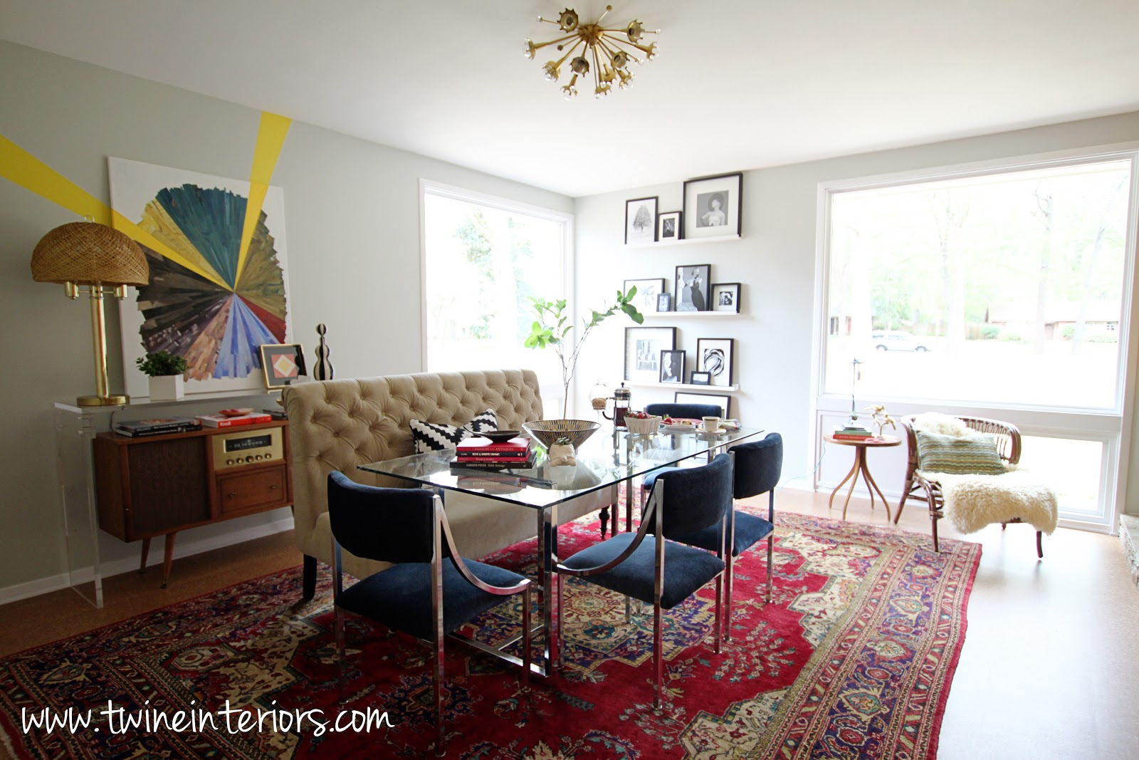 Eclectic dining rooms large and beautiful photos photo for Eclectic dining room designs