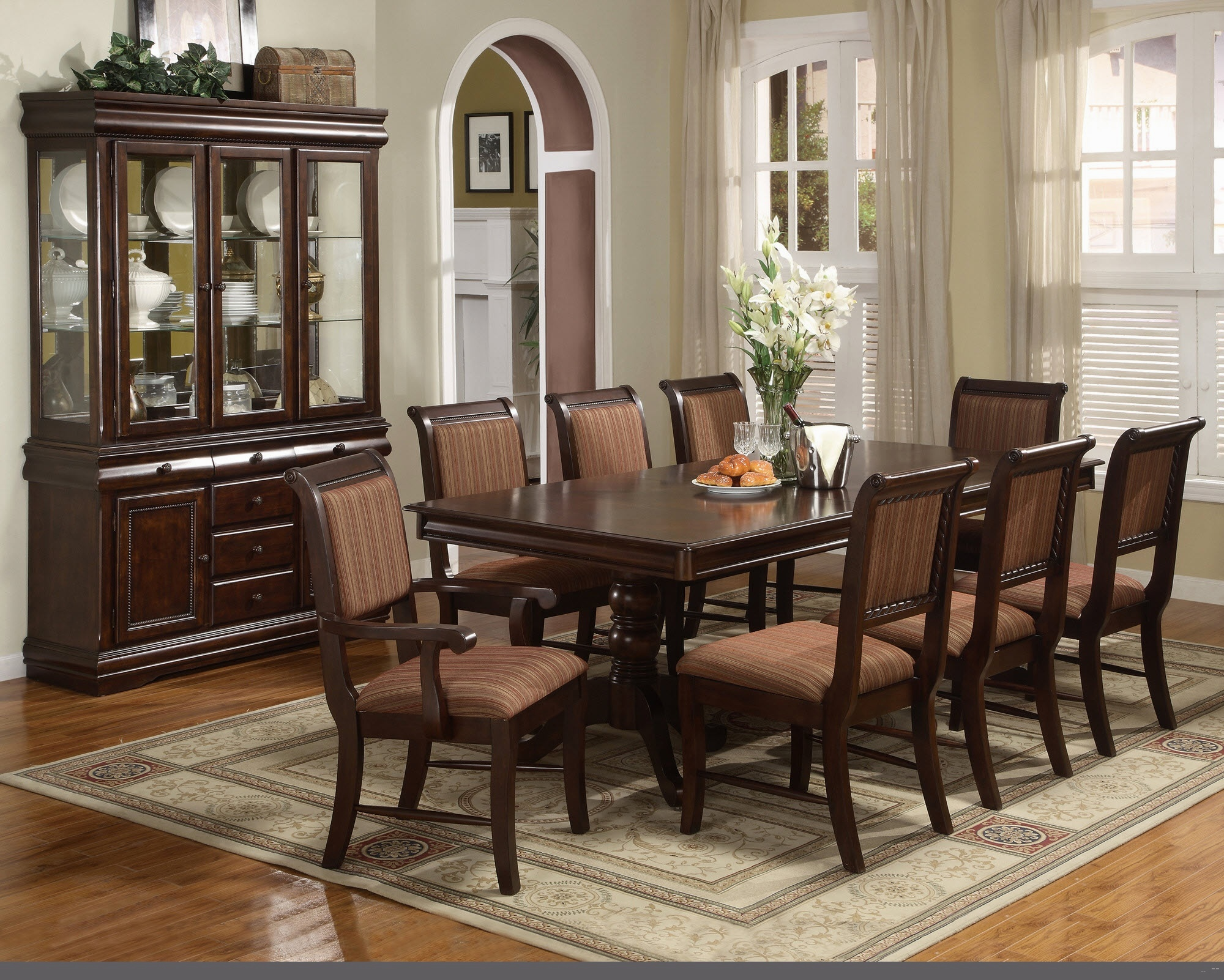 Cool Drapes For Formal Dining Room Contemporary - 3D house designs ...