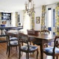 Formal dining room window treatments Photo - 1
