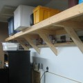 Garage shelf design Photo - 1