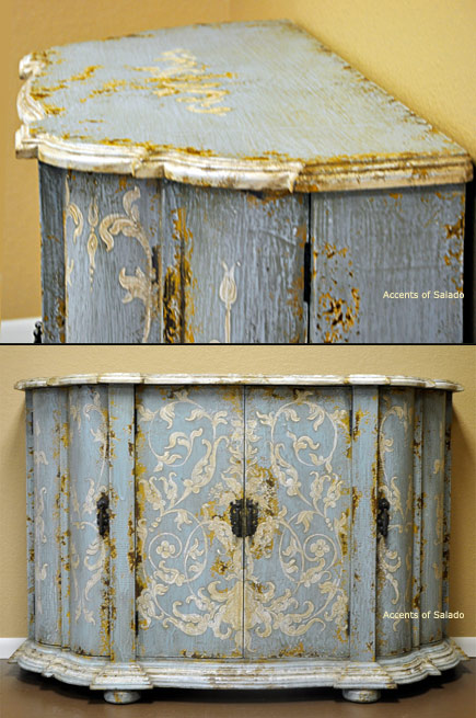 hand painted dining room furniture large and beautiful