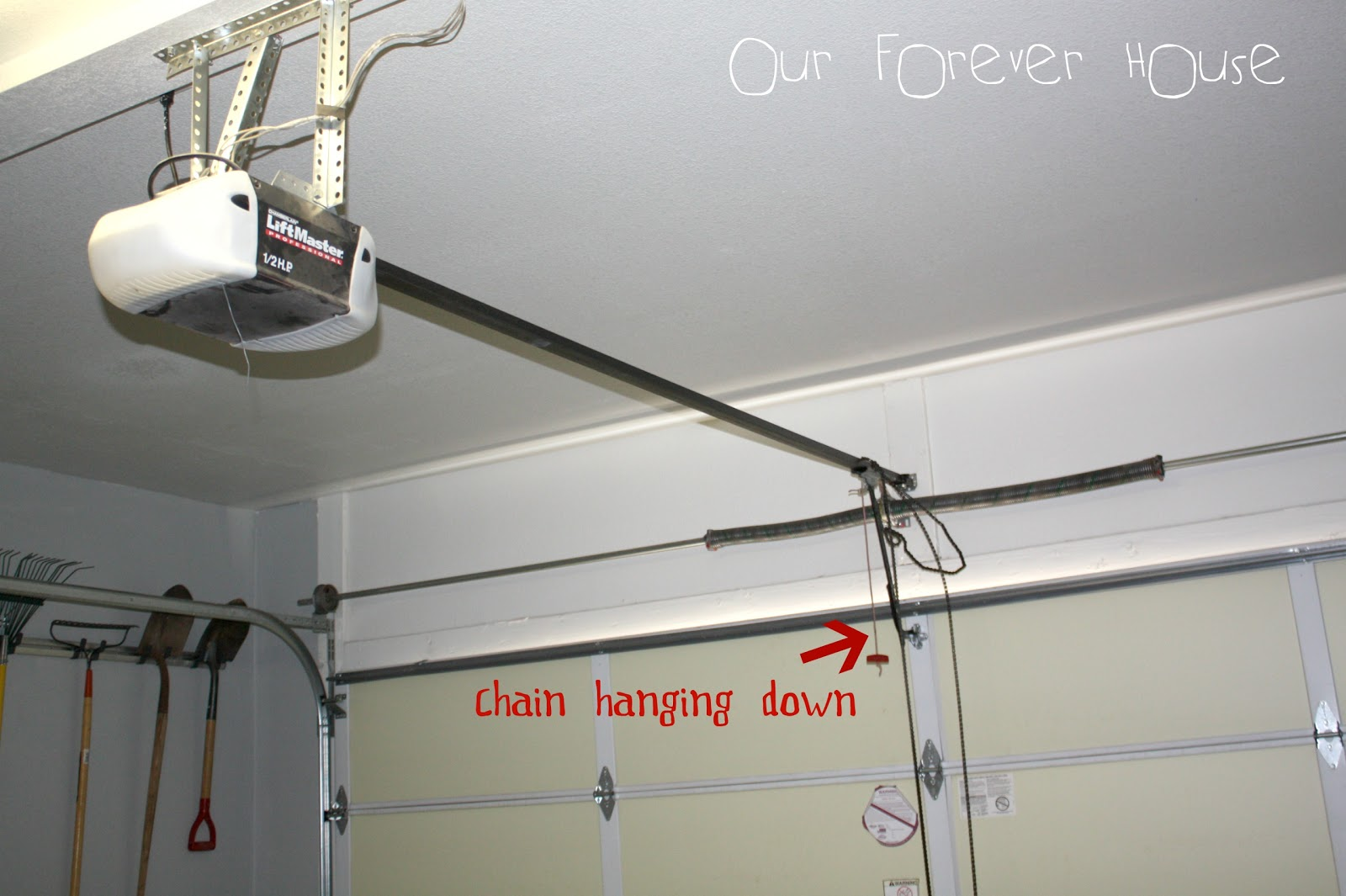 How Do You Install A Garage Door Opener Large And